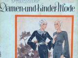 Praktische Damen- und Kinder-Mode No. 17 1935