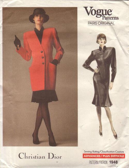 Pattern - Vogue 1948 02