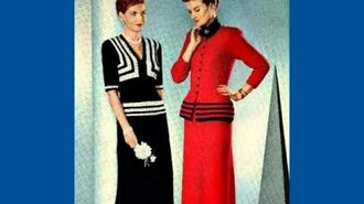 Styles in Vintage Knitting and Crochet