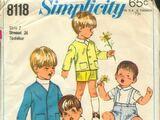Simplicity 8118