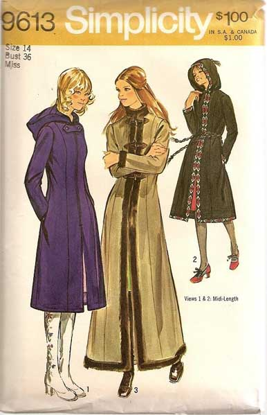 Simplicity 9613 Vintage Sewing Patterns Fandom Powered By Wikia