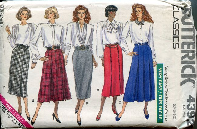 Butterick4392skirts