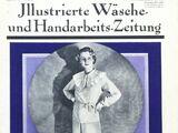 Illustrierte Wäsche- und Handarbeits-Zeitung No. 10 1934