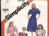 Simplicity 5916 A
