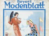 Beyers Modenblatt No. 2 Vol. 10 1931