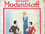 Beyers Modenblatt No. 21 Vol. 10 1932