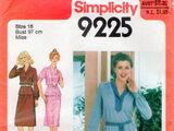 Simplicity 9225 A