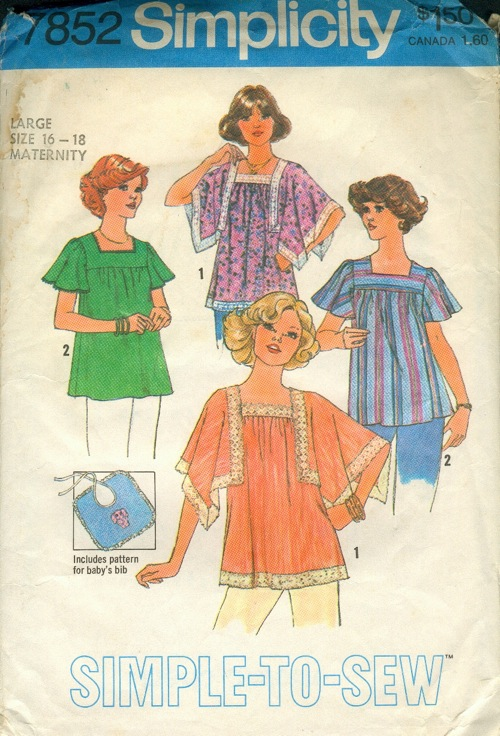 Simplicity 7852 A | Vintage Sewing Patterns | FANDOM powered by Wikia