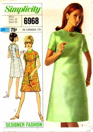 Simplicity 1967 6968