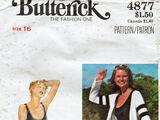 Butterick 4877 B