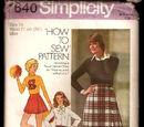 Simplicity 7640 A