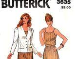 Butterick 3635 A