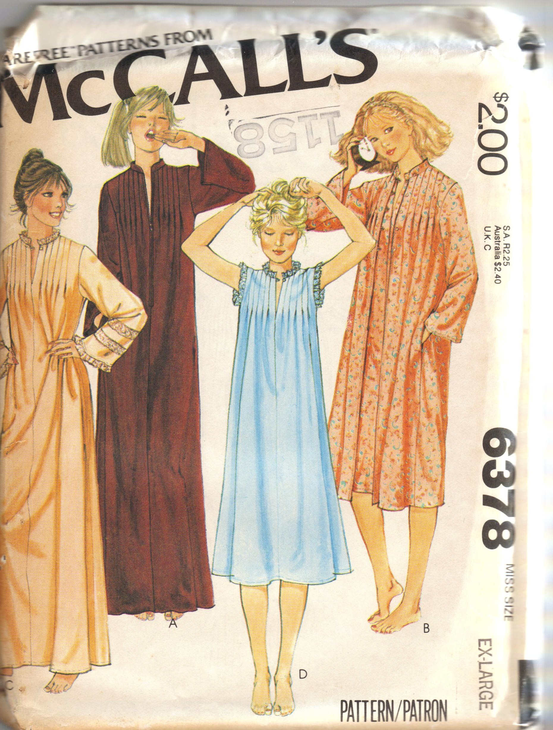Mccalls 6378 vintage sewing patterns fandom powered by wikia m 6378 jeuxipadfo Gallery