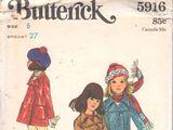 Butterick 5916