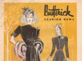 Butterick Fashion News April 1940