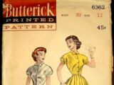 Butterick 6362