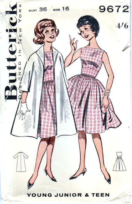 Pattern - Butterick 9672