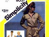 Simplicity 6031 A