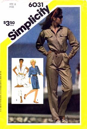 Simplicity 1983 6031