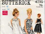 Butterick 4735 A