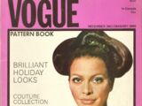 Vogue Pattern Book December 1967/January 1968