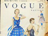 Vogue 8476 A