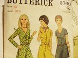 Butterick 5760 D