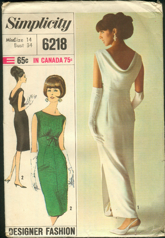 Simplicity 6218 | Vintage Sewing Patterns | FANDOM powered by Wikia