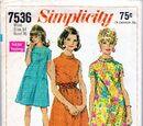 Simplicity 7536 A
