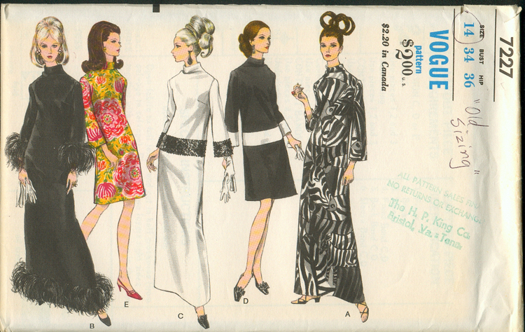 Vogue 7227 | Vintage Sewing Patterns | FANDOM powered by Wikia