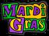 Mardi Gras 2018 logo