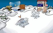 April Fools' Party Snow Forts
