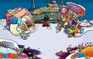 Submarine Party Town