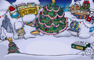 Plaza christmasa