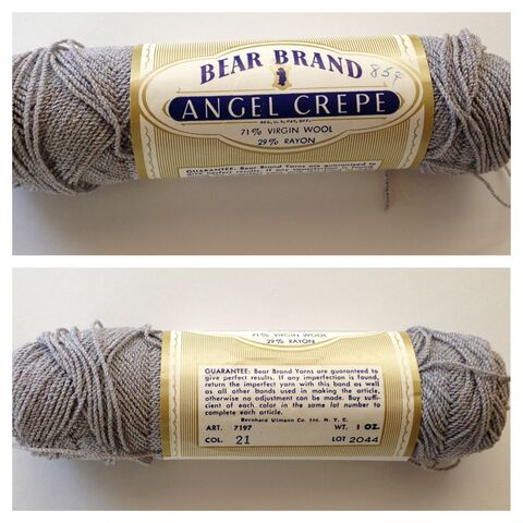 Bear Brand Angel Crepe Yarn