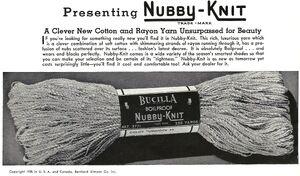 Nubby knit bucilla