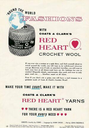 C & C Red Heart Crochet woo