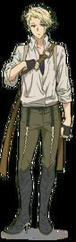 Benedict Blue Anime Design