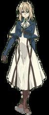 Violet Evergarden Aussehen Anime