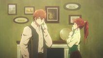 Spencer und Luculia in Episode 9