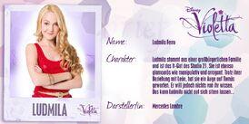 Violetta steckbriefe ludmilla