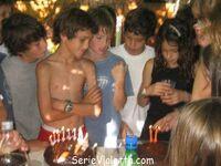 Martina bei eine Geburtstags Party