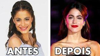Violetta Antes e Depois da 1ª a 3ª temporada 2016