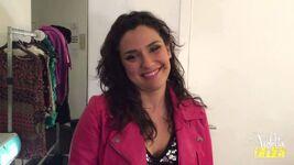 Alba backstage