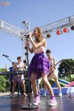 Violetta singt EMM