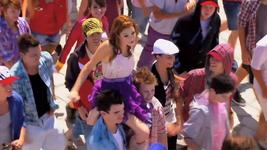Violetta und ein paar Leute