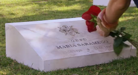 María's grave