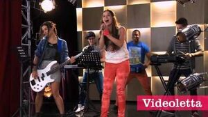 Violetta 2 Cami and guys singing Be better in French