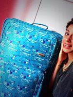 Tini's suitcase