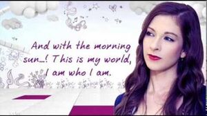 Violetta This Is My World (En Mi Mundo) Official song (Lyrics) English
